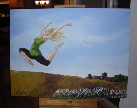 dancer painting