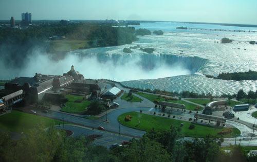 Niagara Falls Hotel view
