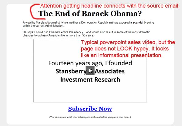 sales video example